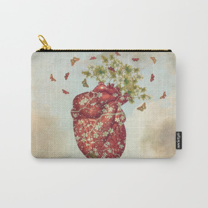 Love Tree Carry-All Pouch