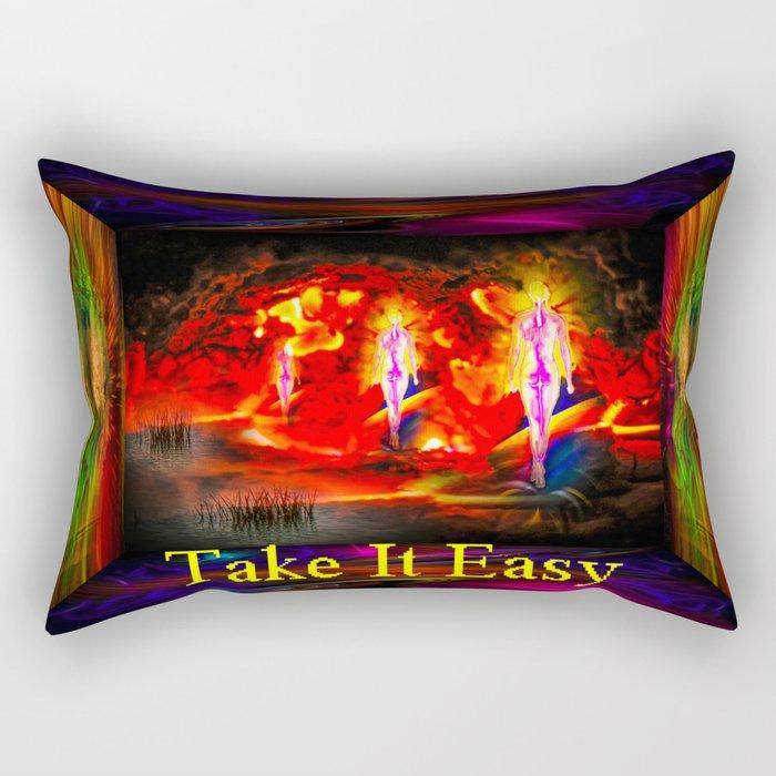 Heavenly apparition  - Take It Easy Rectangular Pillow