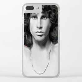 People are Strange (Jim M. Painting) Clear iPhone Case
