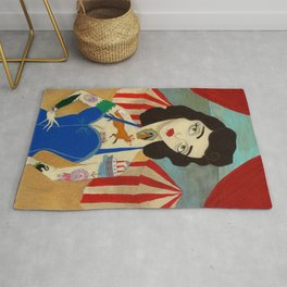 Tattooed Lady Rug