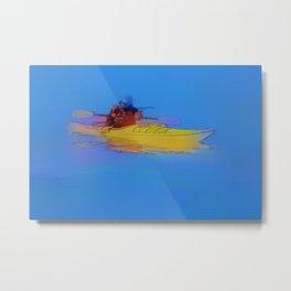 Touching Heaven    -   Kayaker Metal Print