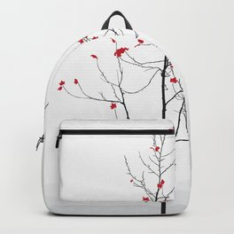 Twig Tree - Crimson Backpack