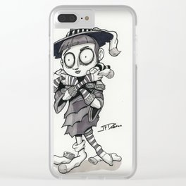 The Sock Witch Clear iPhone Case