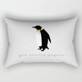 Good Morning Gorgeous Rectangular Pillow