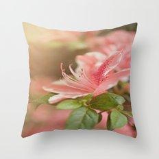 Spring's eruption Throw Pillow