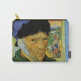 Self Portrait with Bandaged Ear by Vincent van Gogh Carry-All Pouch