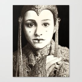 Weight of the Crown Canvas Print