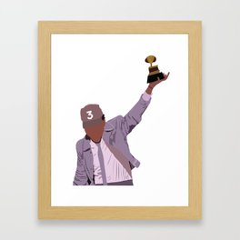 Chance the Rapper - Grammy Framed Art Print
