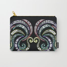 Swirling Zentangle Carry-All Pouch