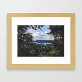 View of Lake Windermere - Landscape and Nature Photography Framed Art Print