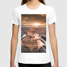 touching the sky T-shirt