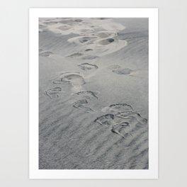 Shadow Palette 2 (barefoot) Art Print
