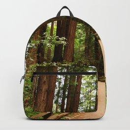 Walking Through The Muir Woods Backpack