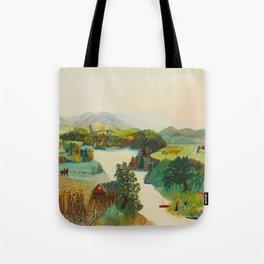 Anna Mary Robertson 'Grandma' Moses Upper Cambridge Valley American Folk Art Tote Bag