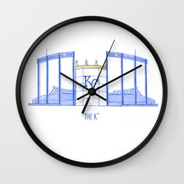 Kauffman Stadium Wall Clock