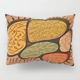 Terracotta HappyMess #society6 #buyart Pillow Sham