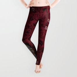 Rustic Ruby Leggings