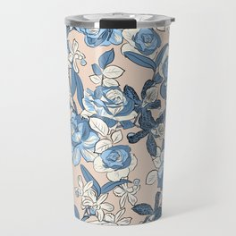 Seaside Floral Travel Mug