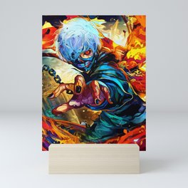 Colorful Ghoul Mini Art Print