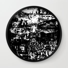 Commercial Drive Wall Clock