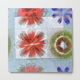 Uncrazy Peeled Flowers  ID:16165-053051-02651 Metal Print