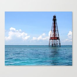 Sombrero Reef Canvas Print