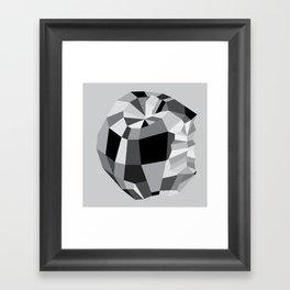 Apple Trilogy - the first bite Framed Art Print