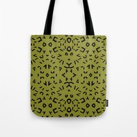 alphabet Tote Bags featuring Alphabet by Chelsea Densmore