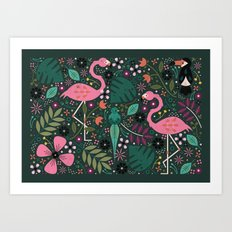 Spirit of the Jungle Art Print