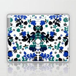 cobalt leaves Laptop & iPad Skin