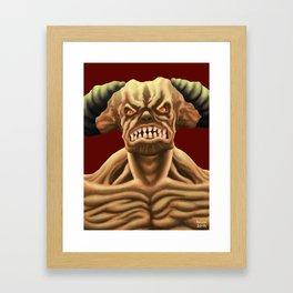Cyberdemon from DOOM Framed Art Print