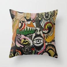 jungle boogie Throw Pillow