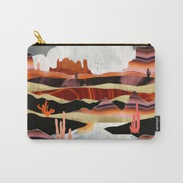 Coral Desert Lake Carry-All Pouch