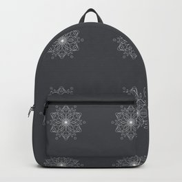 Geometric Asphalt Backpack