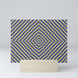 Dizzy Geometry Mini Art Print