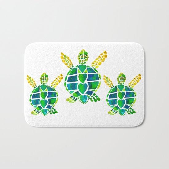 Turtle Love Bath Mat