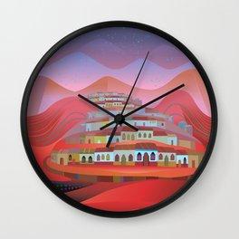 Se Fue a Solola Wall Clock