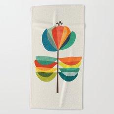 Whimsical Bloom Beach Towel