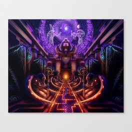 The Key is within Canvas Print