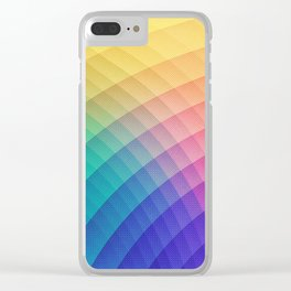 Spectrum Bomb! Fruity Fresh (HDR Rainbow Colorful Experimental Pattern) Clear iPhone Case