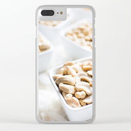 The Taste Of Nuts Clear iPhone Case