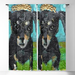 Cherish the Dachshund Blackout Curtain