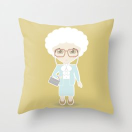 Girls in their Golden Years - Sophia Throw Pillow