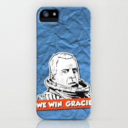 We Win, Gracie! iPhone Case