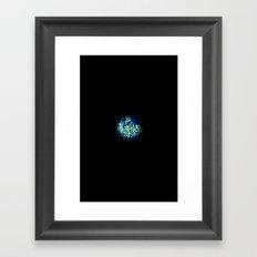 Little Marble Framed Art Print