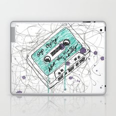Stop Crying About The Music Industry Laptop & iPad Skin
