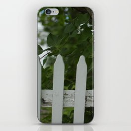 Picket Fence iPhone Skin