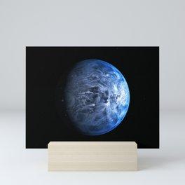 1092. NASA Hubble Finds a True Blue Planet Mini Art Print