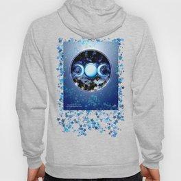 Moon Symbol and Stars Hoody