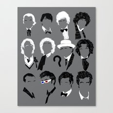 Twelve Doctors Canvas Print